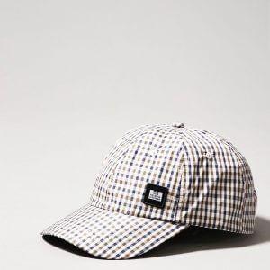 Карирана шапка с козирка на Weekend Offender
